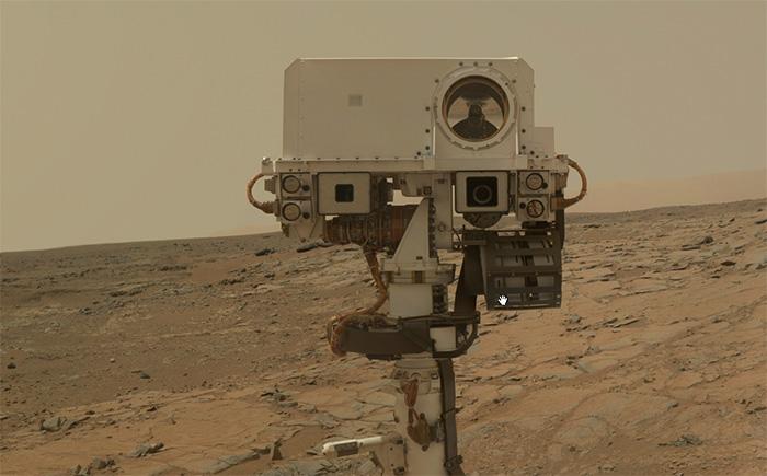Curiosity se autorretrata en Marte, ¿cómo?